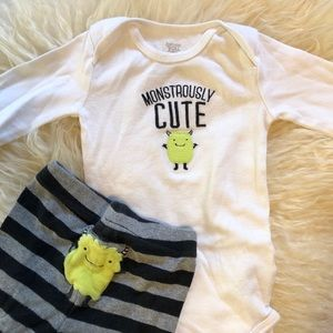 Monstrously Cute Two Piece Outfit